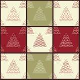 Christmas Vector Seamless Patterns Stock Photos