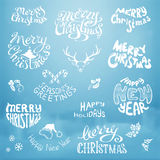 Christmas vector set. Royalty Free Stock Photography