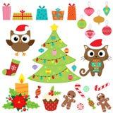 Christmas vector set Stock Photography