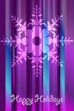Christmas vector snowflakes Stock Photography