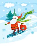 Christmas. Vector christmas winter colorful illustration Stock Image