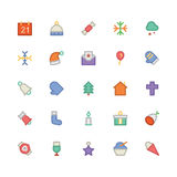 Christmas Vectors Icons 1 Royalty Free Stock Photo