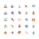 Christmas Vectors Icons 4 Stock Photos