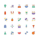 Christmas Vectors Icons 2 Royalty Free Stock Photography