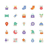 Christmas Vectors Icons 7 Royalty Free Stock Photos