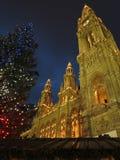 Christmas, Vienna Christmas Market, Austria Royalty Free Stock Images