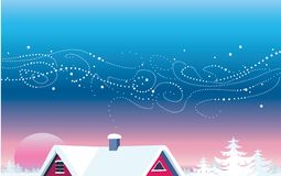 Christmas view Royalty Free Stock Photo