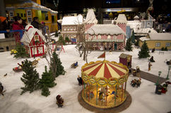 Christmas village Stock Photo