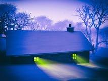 Christmas village Royalty Free Stock Image