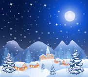 Christmas village 2015 Royalty Free Stock Photography