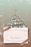 Christmas vintage Royalty Free Stock Image