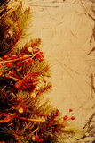 christmas vintage Στοκ εικόνες με δικαίωμα ελεύθερης χρήσης