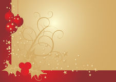 Christmas vintage vector illustration