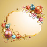 Christmas vintage background. Vector illustration royalty free illustration