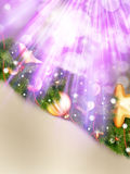 Christmas vintage background. EPS 10 Stock Images