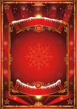 Christmas vintage background Royalty Free Stock Image