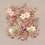 Christmas Vintage Background royalty free illustration
