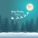 Christmas Vintage Background Stock Image