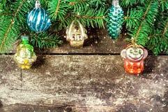 Christmas vintage backgrounds Stock Image
