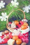 Christmas vintage backgrounds Royalty Free Stock Images