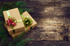 Christmas vintage backgrounds Royalty Free Stock Photography