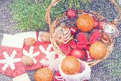 Christmas vintage backgrounds Stock Photo