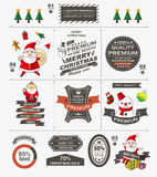 Christmas vintage banner Royalty Free Stock Images