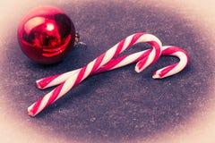 Christmas vintage candys Stock Image