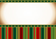 Christmas vintage card royalty free illustration