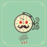 Christmas vintage card background Royalty Free Stock Photos