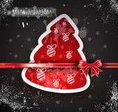 Christmas Vintage design background Stock Photos