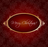 Christmas vintage greeting Stock Photo
