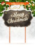 Christmas vintage greeting card. EPS 10 Royalty Free Stock Photos