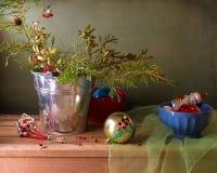 Christmas vintage still life Stock Photos