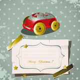 Christmas vintage toy Stock Photos