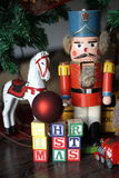 Christmas Vintage Toys Royalty Free Stock Photos