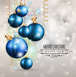 2014 Christmas Vintage typograph design elements:. Vintage labels. ribbons, stickers, baubles and gift boxes, birds, liquid drops, swirls and so on stock illustration