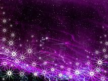 Christmas violet background Stock Photo
