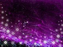 Christmas violet background stock photo