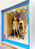 Christmas Vitrine Stock Photo