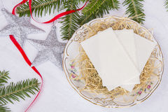 Christmas wafer Royalty Free Stock Photography