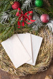 Christmas wafer Royalty Free Stock Images