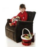 Christmas Wait Stock Image