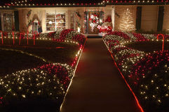christmas walk Στοκ φωτογραφία με δικαίωμα ελεύθερης χρήσης