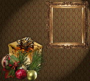 Christmas wallpaper Royalty Free Stock Photo