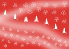 Christmas wallpaper royalty free illustration