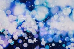 Christmas wallpaper decorations concept.holiday festival backdrop:sparkle circle lit celebrations display. Stock Image