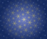 Christmas wallpaper pattern. Blue Christmas wallpaper pattern with snowflake Royalty Free Stock Images