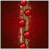 Christmas wallpaper Stock Photos