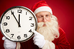 Christmas warning Stock Photography